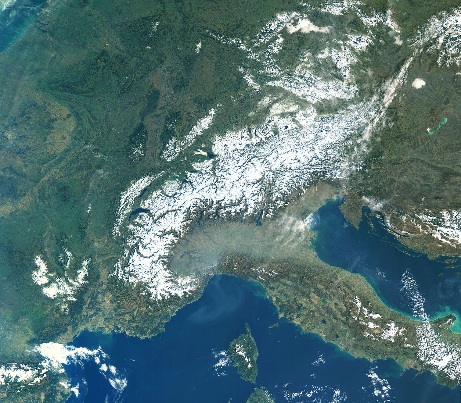Imiona dla lodowców po satelitach